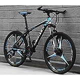 FJW 26 Inch Integral Wheel Unisex Suspension Mountain Bike 21 Speed 24 Speed