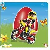 Playmobil - 4923 - oeuf 2010 pilote et moto