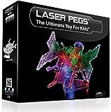 Laser Pegs - Mariposa luminosa de juguete 12 en 1