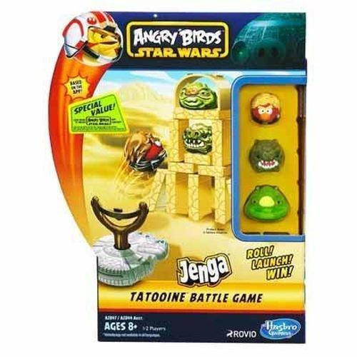 Star Wars - Angry Birds - Jenga Battle Game - Tatooine [UK Edition]