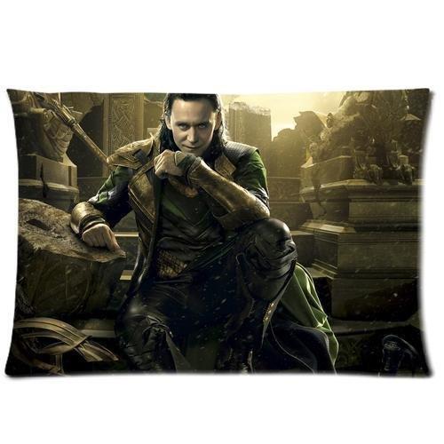 Custom Tom Hiddleston The Avengers Loki Laufeyson Pillowcase Standard Size Design Cotton Pillow Case