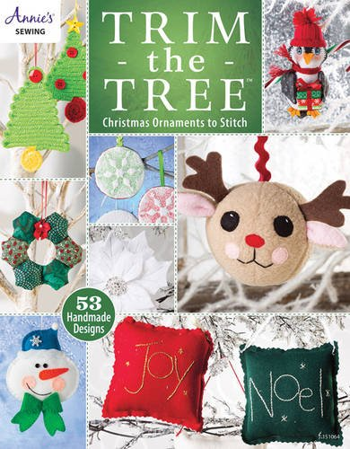 Trim the Tree: Christmas Ornaments to Stitch (Annies)