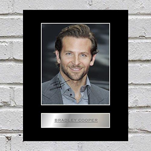 Bradley Cooper, con autografo