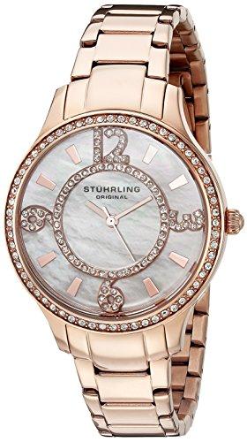 Stuhrling Original 559.04999999999995 Damen-Armbanduhr Analog Quarz Edelstahl
