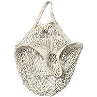 RETON Sac Fourre-Tout Tissé Tissé Net En Filet de Coton de Sac de Maille Réutilisable - Blanc, 15Inch