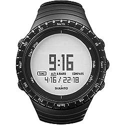 Suunto CORE - Reloj unisex de exterior para todas las altitudes, sumergible (30 m), altímetro, barómetro, funciones meteorológicas, carcasa resistente, color negro, única