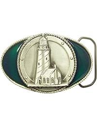 Gürtelschnalle Buckle Leuchtturm