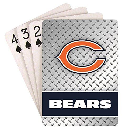 Pro Specialties Group NFL Spielkarten, Jungen Damen Unisex Mädchen Herren, Chicago Bears, Standard Size