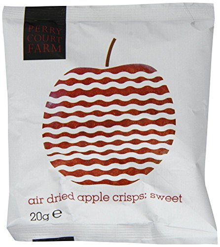 Perry Court Farm Air Dried Sweet Apple Crisps 20g (Pack of 24) Test