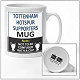 Tottenham Hotspur football club supporters rival team joke funny new and easy office Tea and Coffee Mug gift