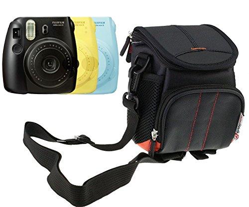 Navitech housse étui noir pour Fujifilm - Instax Mini 8 - Appareil Photo Argentique Instantané