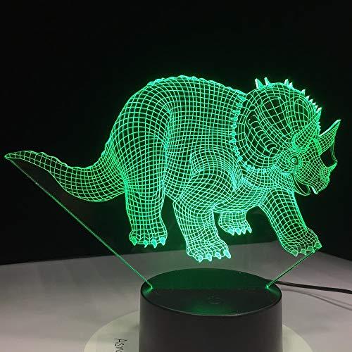 Eisbär 3D Lampe LED Hai USB Tischlampe Nachtlichter 3D Hund 7 Farben Wechselnden lampe Frosch Jahr Geschenk Für Kinder Geschenk Souvenir Dinosaurier Eine Größe