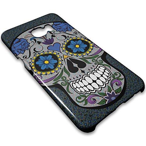 FarmyGadget Cover Case Custodia Stampa Completa tipo TESCHIO MESSICANO - MEXICAN SKULL - CALAVERA per Apple iPhone 6 / 6S 00003d