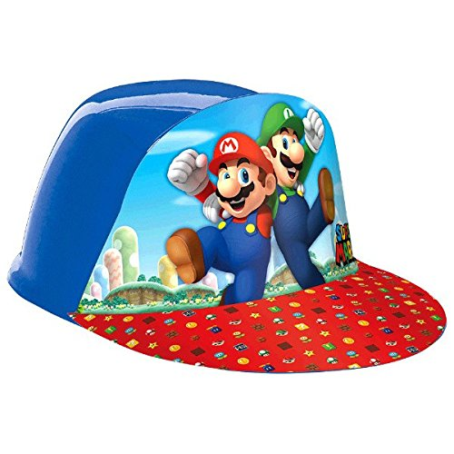 Super Mario Cap (Mushroom Mario Super Red)