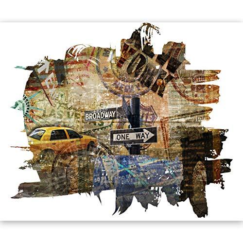 murando - Fototapete New York 250x193 cm - Vlies Tapete - Moderne Wanddeko - Design Tapete - Wandtapete - Wand Dekoration - Stadt City NY Broadway 10040904-57