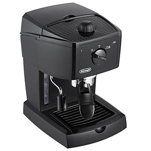 De'Longhi Traditional Barista Pump Espresso Machine, Coffee and Cappuccino Maker, EC146.B, Black