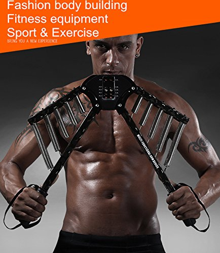 Power Twister 2.5kgs Spring Chest ARM Expander Adjustable Strength Trainer Pull ginnico