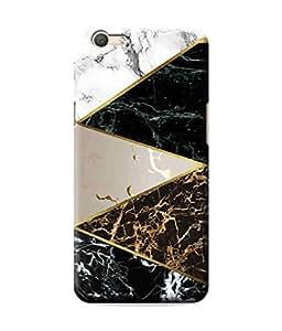 Be Awara Multi Marble Design Designer Mobile Phone Case Back Cover For Oppo A59