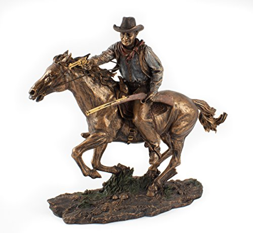 Bronze Screen Legend Riding Cowboy - John Wayne (Cowboy Bronze)
