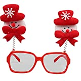 MäDchen Weihnachten Brillengestell Niedlich Kinder Erwachsene Ornamente Decor Abend Party Spielzeug Weihnachtsdeko Dekoration Geschenk Dekorationen Girls Geburtstags HeißE(A,Freie Größe)