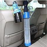#3: MosQuick® - Portable car garbage bin/ car umbrella holder stretchable caniste , storage tube, car organiser , Black