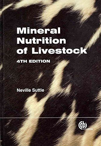 [Mineral Nutrition of Livestock] (By: N.F. Suttle) [published: October, 2010]