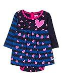 Desigual Baby-Mädchen Kleid Vest_Bruna, Blau (Estado 5127), 86 (Herstellergröße: 24)