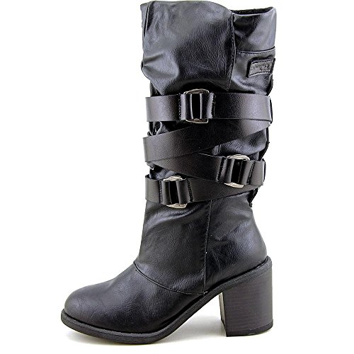 Blowfish Momento Femmes Synthétique Botte Black Old Saddle-Pisa