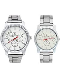 Cavalli Analogue White Dial Men'S And Women'S Watch Cavalli182