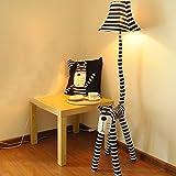 WW Floor Lamp Creative Cartoon Floor Lamp Cat Star People Floor Lamp Children Bedroom Bedroom Living Room Bedside Lamp