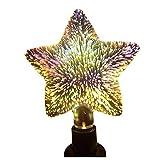 TOOGOO(R) 5W LED 3D Dekoration Gluehbirnen 85V-265V Neuheit RGB Lampe Stern Gluehfaden Feuerwerk Ball Licht fuer Zuhause Urlaub
