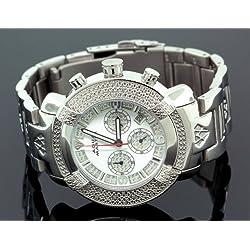 NEW! Aqua Master Men's #96 20-Diamond Watch
