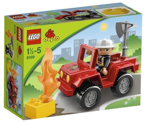 feuerwehrauto lego duplo LEGO Duplo 6169 - Feuerwehr-Hauptmann