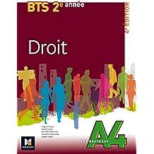 Les Nouveaux A4 - DROIT - BTS 2e année
