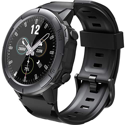 Arbily Smartwatch Fitness Armbanduhr Fitness Tracker für Damen Herren, Sportuhr mit Schrittzähler Pulsmesser Wasserdicht IP68 zum Schwimmen, Fitness Uhr Smart Watch für iOS Android Handy