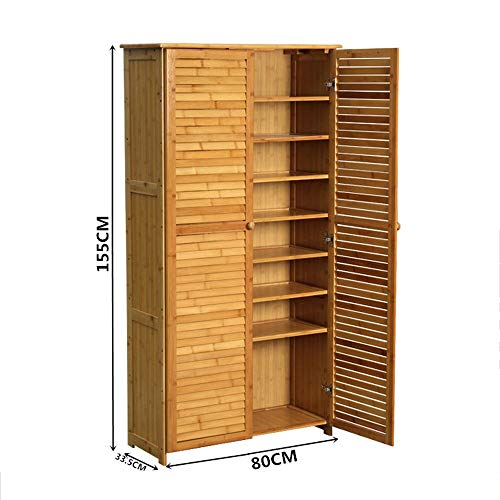 BOOK CASE DD- Shoebox, Multi-Layer-Massivholz-Schuhregal Multifunktionale Storage Cabinet Shoe...