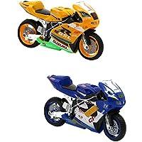 Juguetes de Motocicleta con Luces y Sonidos Fundición a Presión Aleación de Retroceso - #1