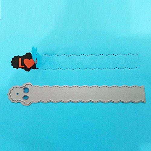 FNKDOR Scrapbooking Stanzschablone, Papierbasteln Schablonen Stanzmaschine Schneiden Stanzformen, für Sizzix Big Shot und andere Prägemaschine (G)