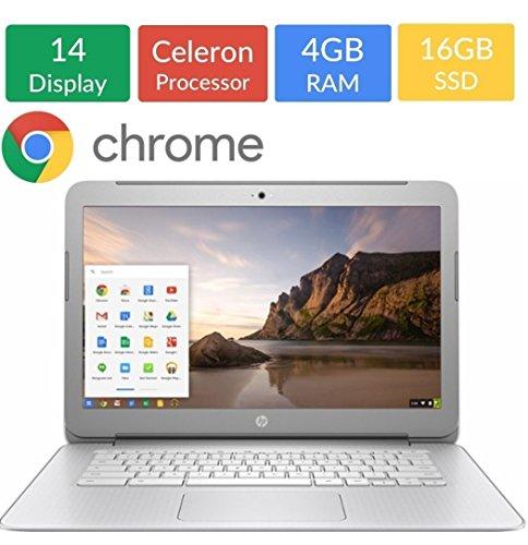 HP 14-inch HD SVA 1366x768 Display Chromebook( Silver)