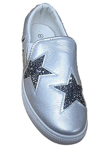 Foster Footwear, Sneaker donna Silver