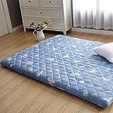 PIFGEDTGVC Tatami matratze/falt-matratze/Schwamm Soft Kissen/Dicke Platte/matratze/doppel-mat-A 90x200cm(35x79inch)