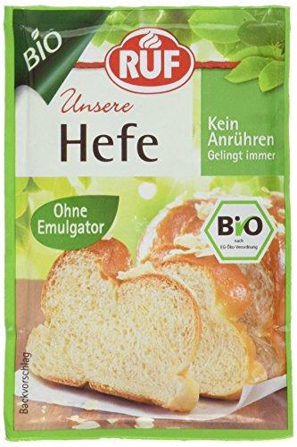 Hefe Glutenfrei (RUF Bio Hefe, 10er Pack (10 x 27 g))