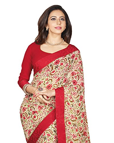 SAREES(Women\'s Clothing Sarees for women latest Color Sarees collection in latest Sarees with designer Blouse Piece free size beautiful bollywood Sarees for women party wear offer designer Sarees wit