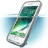 i-Blason Coque étanche iPhone 7 iPhone 8 Étui imperméable robuste munie d'un protège-écran intégré pour Apple iPhone 7 / iPhone 8 (Blanc)