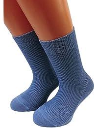 Kinder Öko Socken 100% kbT Wolle