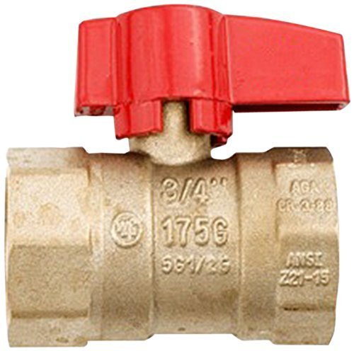 Shut-off Ball Valve (Dante Products Inline Gas Shut Off Ball Valve, 3/4-Inch by Dante)