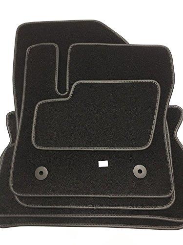 Tapis de sol pour voiture haute qualité, en velours et cuir synthétique