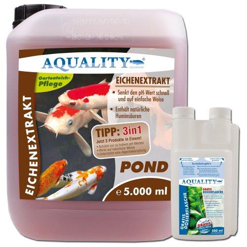 aquality-eichenextrakt-pond-5000-ml-gratis-lieferung-innerhalb-deutschlands-senkt-auf-naturliche-wei