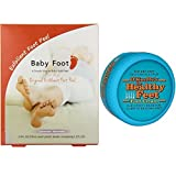 Baby Foot and Healthy Feet Starter Pack Combo (Single Baby Foot)