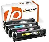 Bubprint 4 Toner kompatibel für HP CF400X CF401X CF402X CF403X 201X für Color Laserjet Pro M252DW M252N M274N M274DN MFP M277DW MFP M277N BK C M Y